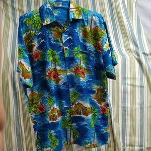 Mens hawaiian shirt size XL